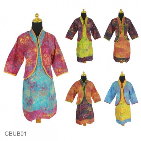Dress Batik Kinan Batik Pelangi