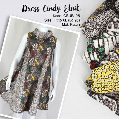 Dress Batik Cindy Etnik