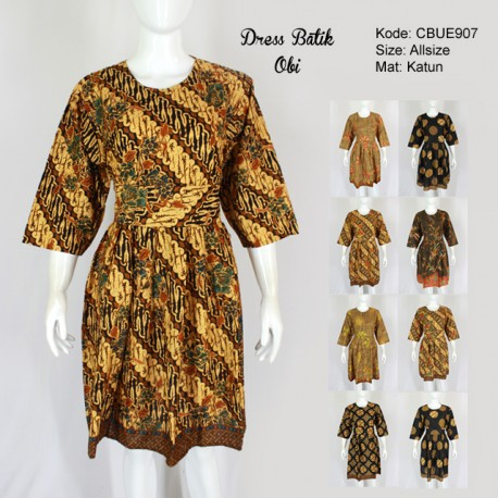 Dress Batik Obi Motif Klasik