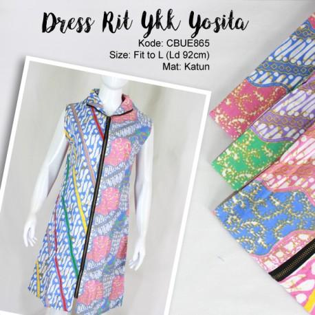 Dress Batik Rit Ykk Yosita 2