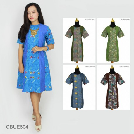 Dress Dinda Batik Primis Embos