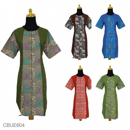Dress Dinda Batik Embos Exclusive
