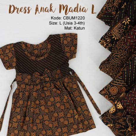 Dress Madia Cappuccino Size L