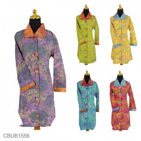 Dress Maya Motif Kembang Api