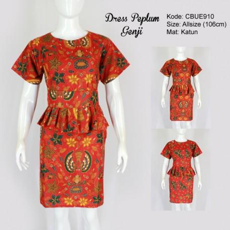 Dress Peplum Genji Klasik