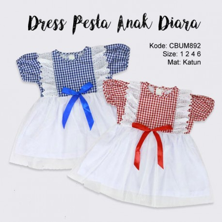 Dress Pesta Anak Diara