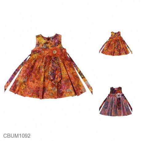 Dress Pesta Anak Diana Orange
