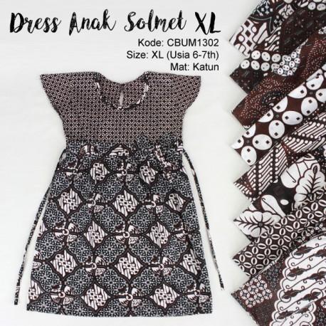 Dress Solmet Anak Klasik XL