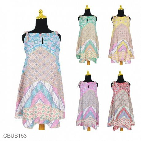 Dress Tali Motif Parang Soft