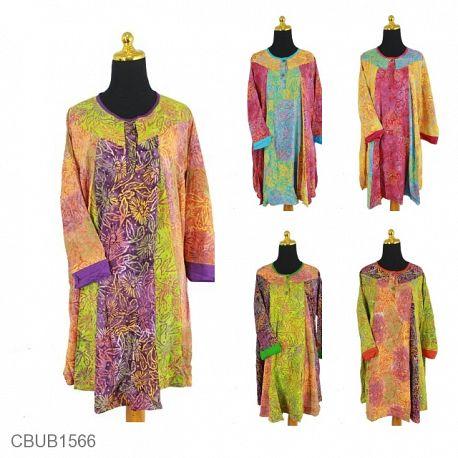 Dress Toniq Motif Bunga Matahari