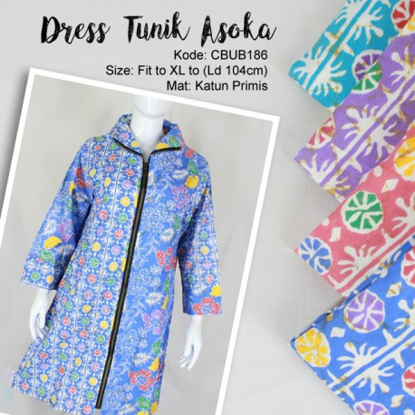 Dress Tunik Asoka kembang