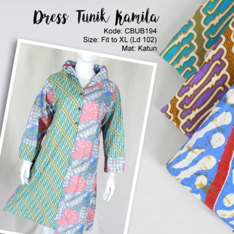 Dress Tunik Kamila Parang