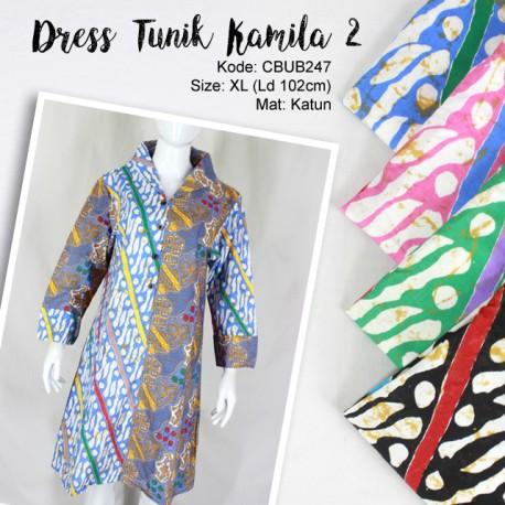 Dress Tunik Kamila Parang 2