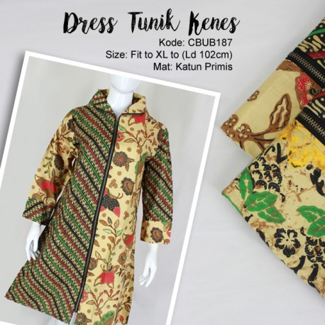 Dress Tunik Kenes Klasik