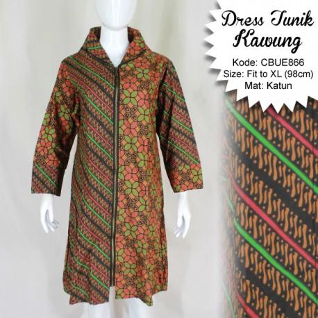 Dress Tunik Kenes Kawung