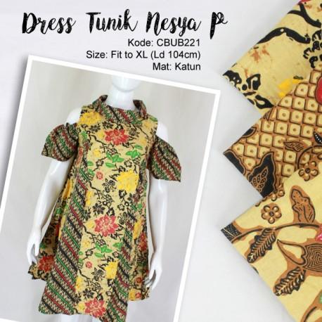 Dress Tunik Nesya Kembang Parang