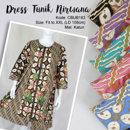 Dress Tunik Nirwana Kawung