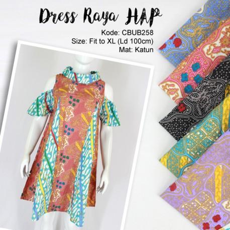 Dress Tunik Raya Sekar Parang