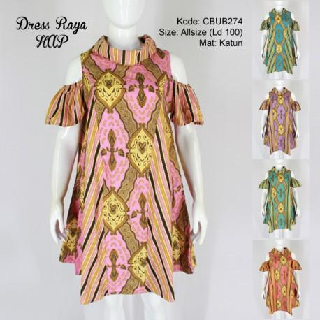 Dress Tunik Raya Motif Sido Liris