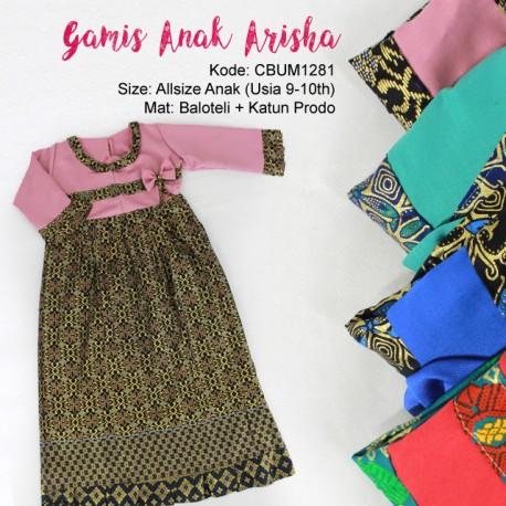 Gamis Anak Arisha Klasik