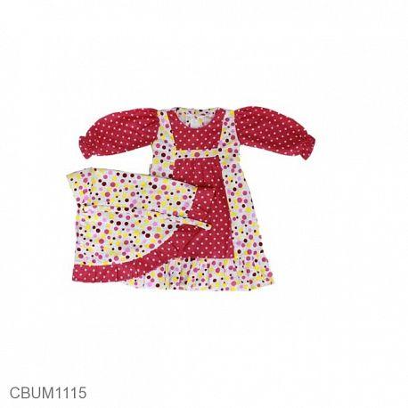 Gamis Anak Diva Pink Size 8
