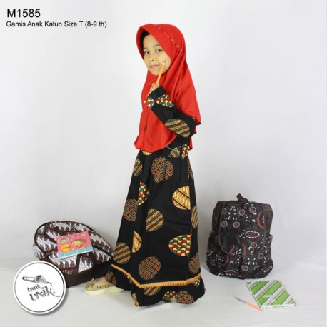 Gamis Anak Koin Cemeng T