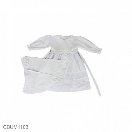 Gamis Anak Meryl Putih Size 2
