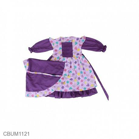 Gamis Anak Wanda Ungu Size 1