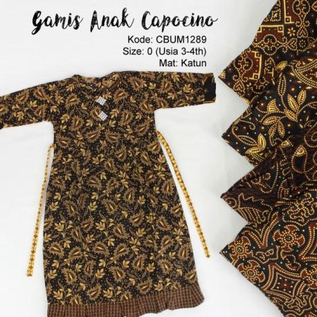 Gamis Batik Anak Capocino