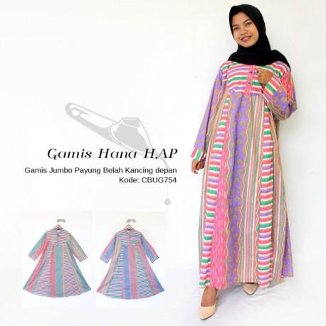 Gamis Batik Hana HAP Motif Lapis
