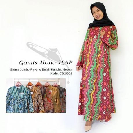 Gamis Batik Hana HAP Motif Jumputan