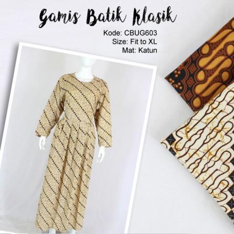 Gamis Batik Motif Klasik