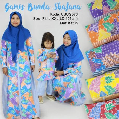 Gamis Batik Safana Sekar