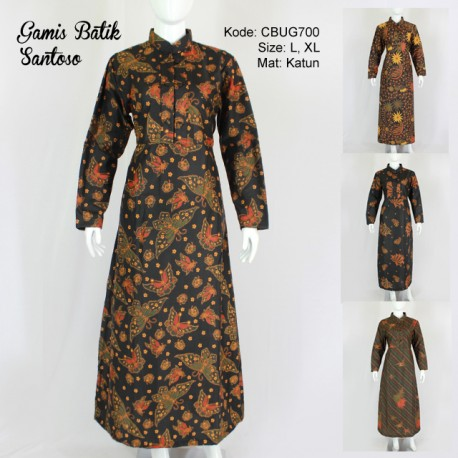 Gamis Batik Santoso