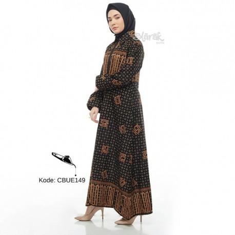 Gamis Exclusive Batik Blarak Modern Hanacaraka