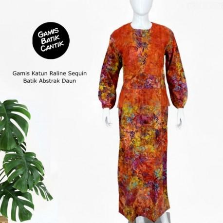 Gamis Katun Raline Sequin
