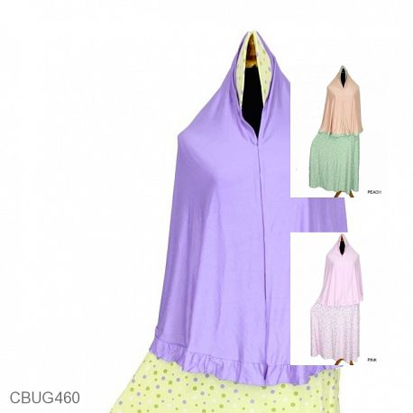 Gamis Set Jilbab Soft Lolly