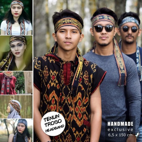 Headband Tenun Troso Jepara Handmade Halus