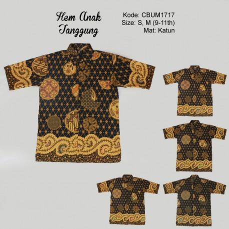Hem Batik ABG Tanggung Katun Etnik(10 -12 th)