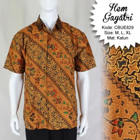 Hem Batik Gayatri Taruntum Katun Motif Klasik