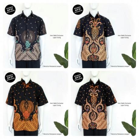 Hem Batik Pendek Lapis Furing Primis Klasik