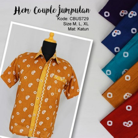Hem Couple Jumputan
