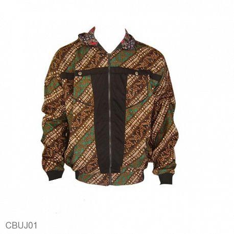 Jaket Batik Back And Forth Motif Parang Modern