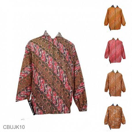 Jaket Batik Back And Forth Motif Kontemporer