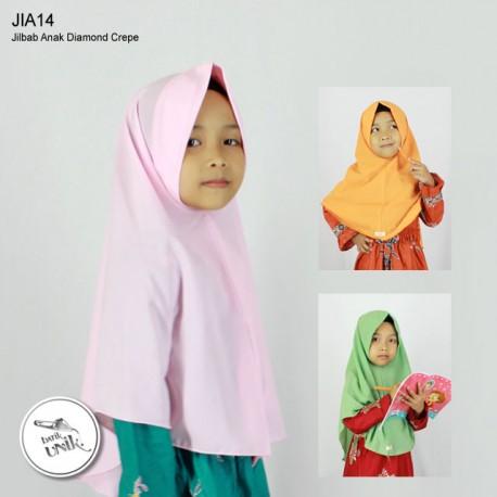 Jilbab Anak Instan Crepe