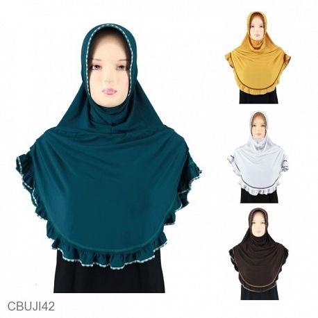 Jilbab Bergo Opersum Rample