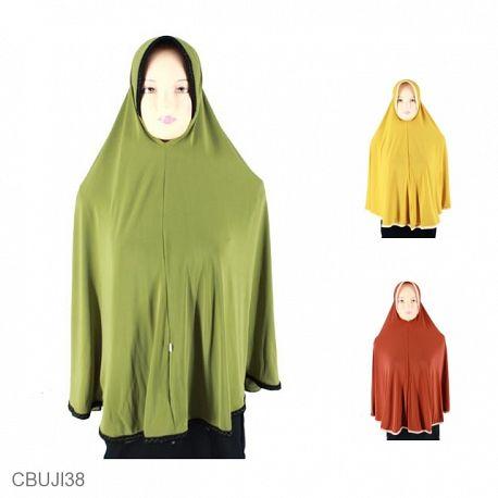Jilbab Bergo Syari Jumbo Sari