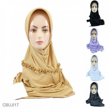 Jilbab Instan Jumbo Salur Kerut