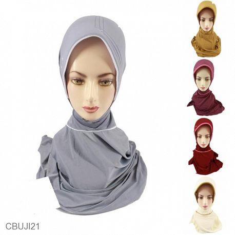 Jilbab Instan Jumbo Plipit Kalem