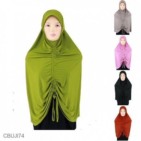 Jilbab Samawa Kerut Free Inner Spandex Super